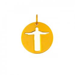 Medaille Christ de Rio (MINI) en OR