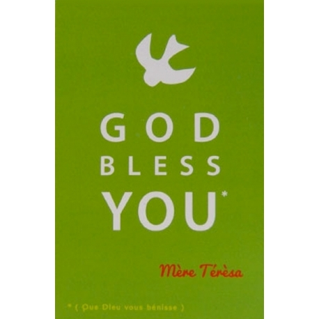 Image « God Bless you » (Personnalisable)