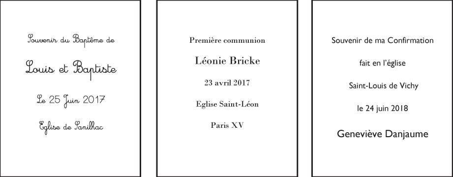 Perpétuer La Tradition Des Images De Communion