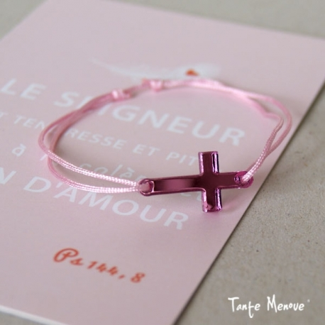 Bracelet HAPPY Reflet rose