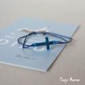 Bracelet HAPPY Reflet bleu