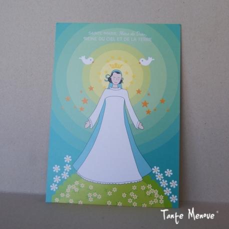 """Poster """"Reine du Ciel et de la Terre"""""""