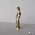 """Statuette """"Vierge à l'Enfant"""" en bronze"""