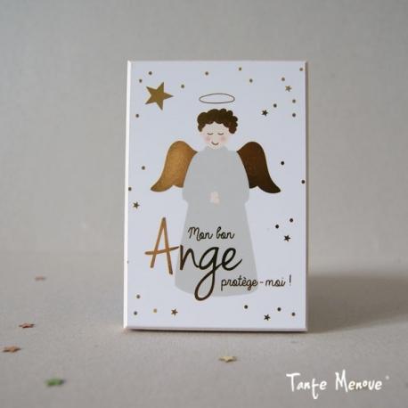 Icône (petit modèle) Ange gardien or