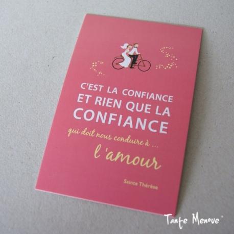 "Carte ""Confiance"""