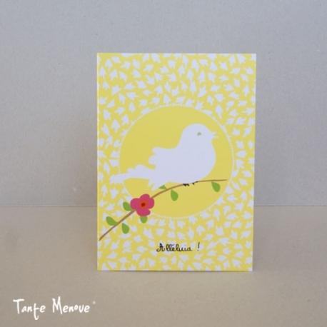 """Carte postale """"Alléluia"""""""