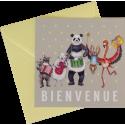 "Carte postale ""Bienvenue !"""