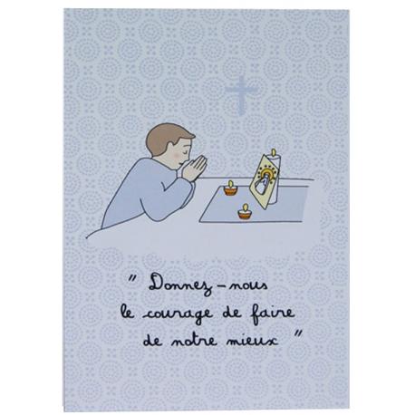 Image « Petite prière » garçon (Personnalisable)