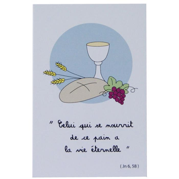 """Célèbre Pain de vie"""" Image de Première Communion YQ96"""