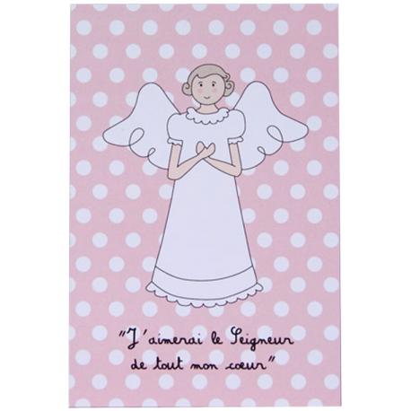 Image « De tout mon cœur » Rose   (Personnalisable)