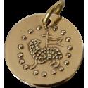 "Médaille ""Agneau de Cluny"" en bronze"