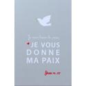 Image « Je vous laisse la paix »   (Personnalisable)