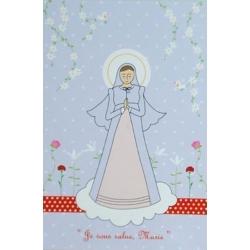 Carte de prière Nature de la Vierge