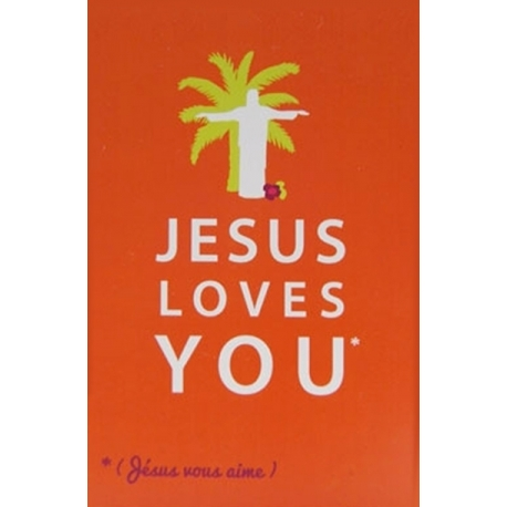 Image « Jesus loves you »   (Personnalisable)