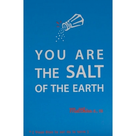 Image « You are the salt of the earth »   (Personnalisable)