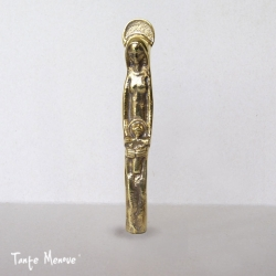 """Statuette """"Grande Vierge à l'Enfant"""" en bronze"""