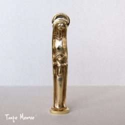 """Statuette """"La Vierge et l'Enfant"""" en bronze"""