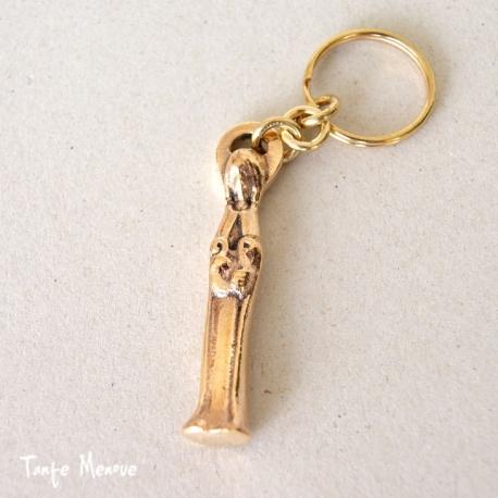 Porte-clés Ste Cécile en Bronze