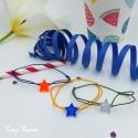 Bracelet Etoile Avec toi (reflet et vert foncé)