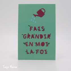 Image Confiance « Fais grandir» (Personnalisable)