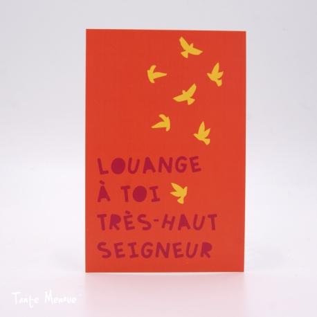 Image Confiance « Louange à Toi » (Personnalisable)
