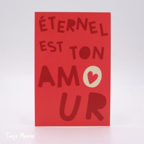 Image Confiance « Eternel est Ton amour » (Personnalisable)