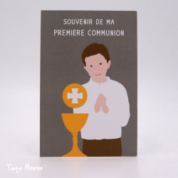 Image Color « Souvenir de ma 1ère communion »  (Personnalisable)