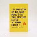 Image «Le Feu»  (Personnalisable)