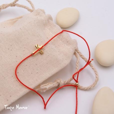 Bracelet de soie TM x Minijoaillerie