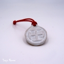 Médaillon de berceau «Croix Scoute»