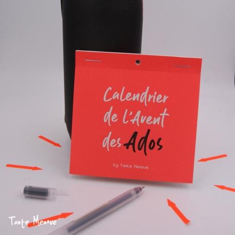 Image Calendrier De L Avent.Calendrier De L Avent Pour Les Ados