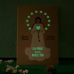 Carte postale Vierge Marie PHOSPHO