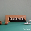 """Marque-page """"Eclaire-moi"""" PHOSPHO"""