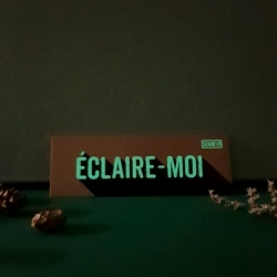 "Marque-page ""Eclaire-moi"" PHOSPHO"