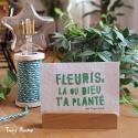 """Une carte postale """"Fleuris!"""""""