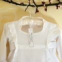 Patron de couture de robe de baptême