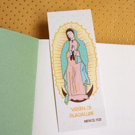 Marque-page Vierge de Guadalupe