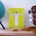 Icône (grand modèle) du Christ Rédempteur