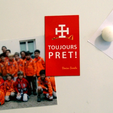 Aimant Scout « Toujours Prêt »